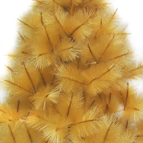 台灣製4尺/4呎(120cm)特級金色松針葉聖誕樹裸樹 (不含飾品)(不含燈) (本島免運費)