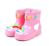 天美意女寶寶雨鞋防滑1-3嬰幼兒童雨靴男童幼兒水鞋小童水靴2019