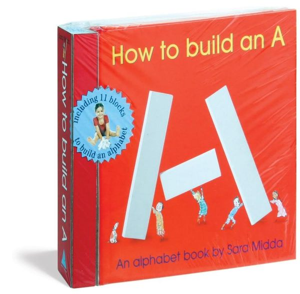 【玩字母.學單字】HOW TO BUILD AN A /精裝