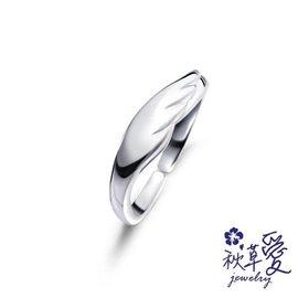 《 SilverFly銀火蟲銀飾 》純銀刻字戒指「天使翅膀-比翼 (男戒)」活圍-Ailsa秋草愛
