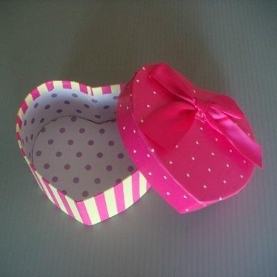 心型小禮物盒(桃紅色)/飾品盒