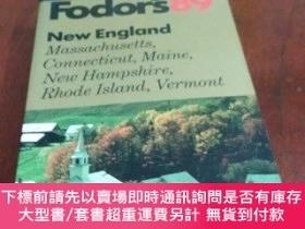 二手書博民逛書店Fodor s罕見89 New England, Massachusetts, Connecticut, Main