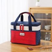 便當袋手提包飯盒袋子保溫袋大號大容量鋁箔隔熱加厚【極簡生活】