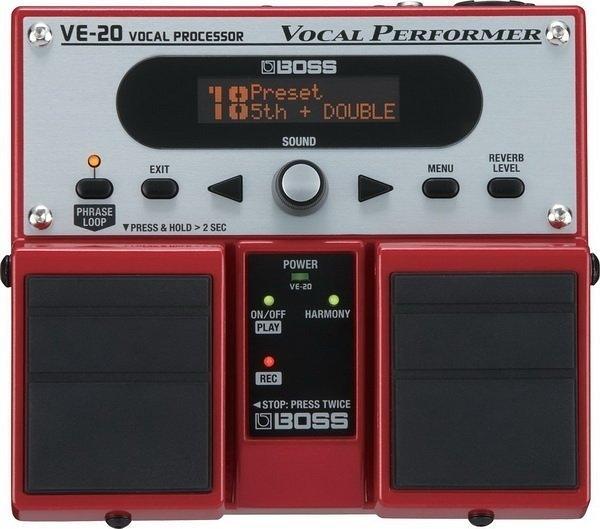 ☆ 唐尼樂器︵☆ BOSS VE-20 VOCAL PERFORMER 人聲 效果器 VE-20