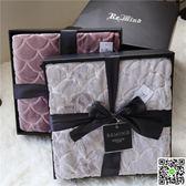 毛毯禮盒裝毯子送禮法蘭絨空調毛巾被冬季加厚珊瑚絨床單高端禮品JD年終狂歡
