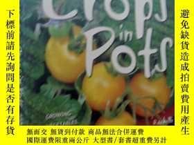 二手書博民逛書店GREEN罕見GUIDES:Crops in Pots(綠色指南