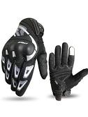 摩托車手套騎行機車手套防摔透氣全指保暖防水手套【618優惠】