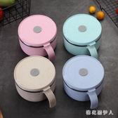 304不銹鋼泡麵碗 方便麵碗女帶蓋家用學生日式宿舍用碗筷 QX8910 【棉花糖伊人】