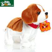 兒童電動玩具狗智慧聲控狗會叫的跳舞狗仿真毛絨小狗機械狗 WD初語生活館