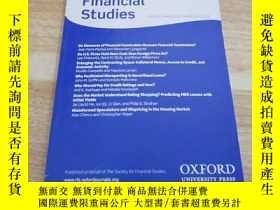 二手書博民逛書店《Review罕見of Financial Studies》Y1