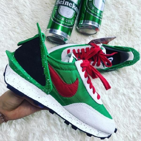 現貨 NIKE DAYBREAK X UNDERCOVER 男鞋 綠紅/CJ3295-300