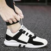 低筒男鞋透氣休閒鞋韓版潮男帆布鞋百搭跑步鞋潮鞋板鞋 露露日記