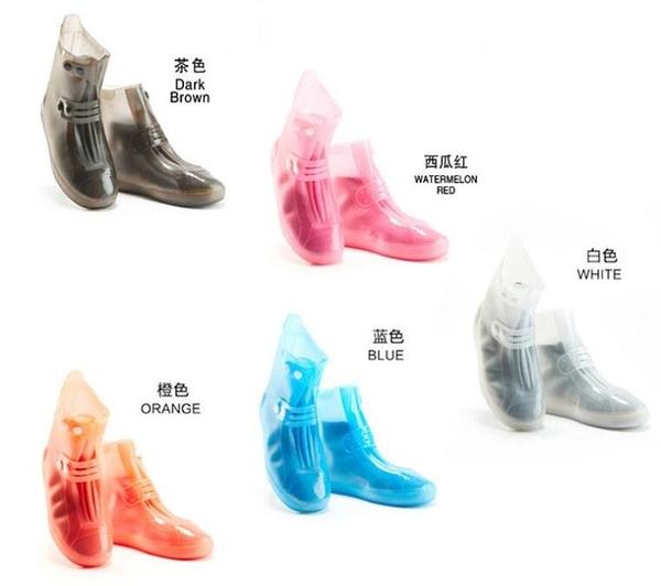 雨鞋套防滑加厚底耐磨防水鞋套
