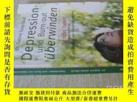 二手書博民逛書店德文原版罕見Depression Burn-out überwinden. Sabine Gapp-BauBY