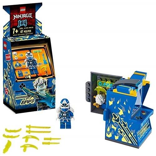 LEGO 樂高 NINJAGO Jay Avatar - Arcade Pod 71715 迷你街機 (47 件)