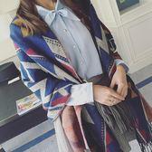 圍巾 兩用尼泊爾民族風長款斗篷大披肩加厚保暖韓版仿羊絨