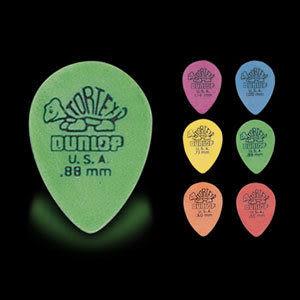 ★集樂城樂器★Dunlop Tortex(S.Tear Drop) 423R 小烏龜吉他彈片(36片裝)