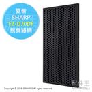 日本代購 SHARP 夏普 FZ-D70DF 空氣清淨機 脫臭濾網 除臭濾網 活性碳 適用 KC-D70 KC-E70