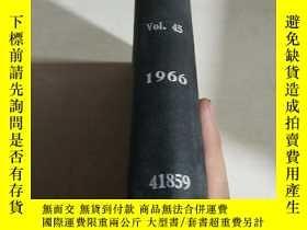 二手書博民逛書店FUEL.Vol.45.1960(燃料罕見)(英語)Y20039