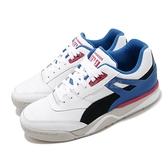 Puma 籃球鞋 Palace Guard The Hundreds 白 藍 男鞋 聯名款 低筒 運動鞋 【ACS】 37138201