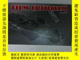 二手書博民逛書店Film罕見criticism Spring 2012 電影批評