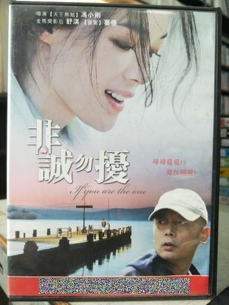挖寶二手片-C01-012-正版DVD-華語【非誠勿擾1】-葛優 舒淇 徐若瑄(直購價)