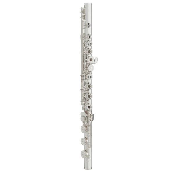 小叮噹的店- Yamaha YFL472 開孔+E鍵 純銀管體 笛頭 唇墊 長笛 (YFL-472)