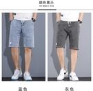 牛仔短褲男士2021年夏季新款潮流外穿潮流工裝馬褲寬松五分中褲子