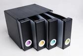 高檔CD盒香港家用大容量藍光碟片箱光碟盒兒童光碟收納盒便攜CD包ATFATF 錢夫人小舖