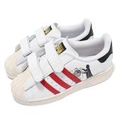 adidas 童鞋 Superstar I 白 藍 紅 星際大戰 小童鞋 小朋友 愛迪達 三葉草【ACS】 FZ0646