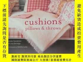 二手書博民逛書店cushions罕見pillows throwsY406185