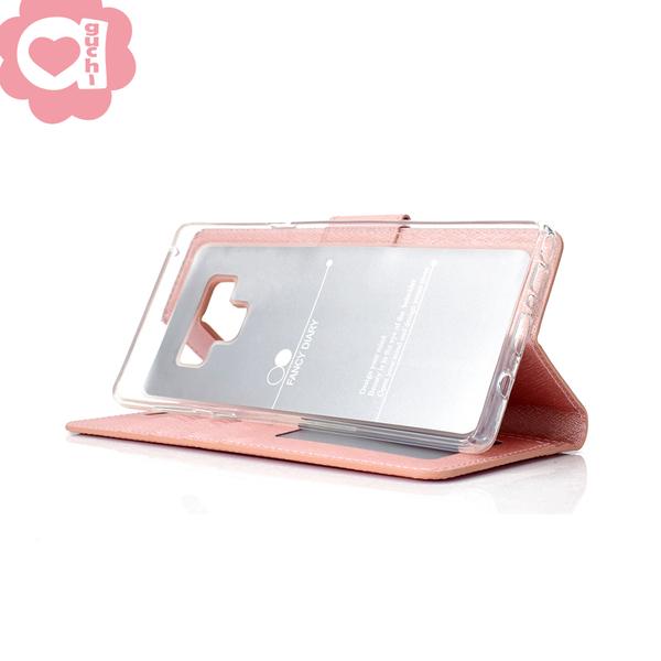 Apple iPhone 11 (6.1吋) 蠶絲紋月詩時尚皮套 表面特殊處理  防刮耐磨 側掀磁扣手機殼/保護套-紫粉玫