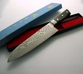 龍紋牛刀-花紋鋼鍛木柄(A00092) 本賣場為210mm,另有240mm、270mm、300mm可選擇
