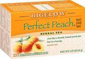 Bigelow 香草蜜桃茶 不含咖啡因 市價399 網路特賣199