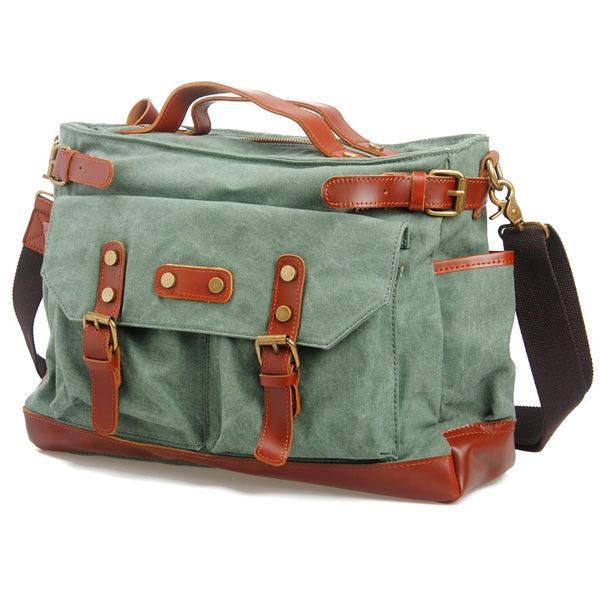 換換包!Changebag!法式復古經典波士頓包牛皮帆布包
