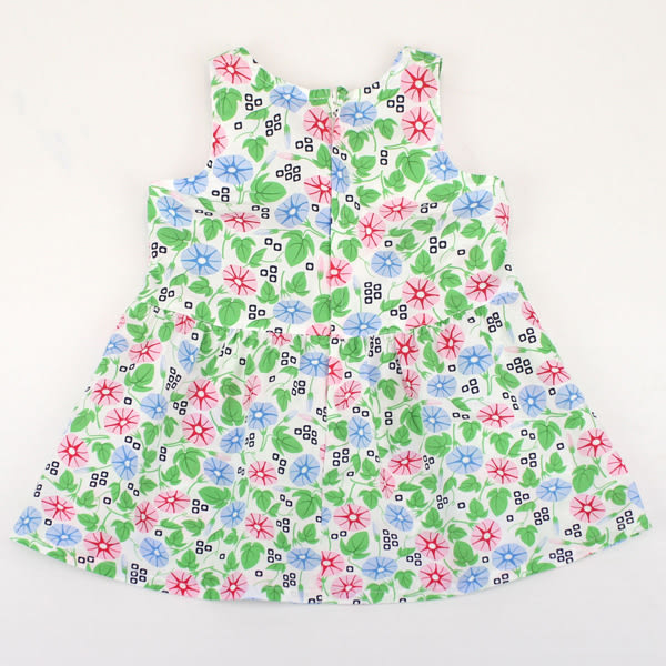【愛的世界】清涼純棉背心洋裝/4~8歲-台灣製- ★春夏洋裝
