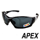 APEX J88偏光眼鏡/可加近視內框-黑