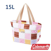 Coleman 保冷手提袋15L 桃紅 CM-27218 露營│登山│行動冰箱│保冰袋│野餐│便當袋