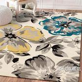 地墊北歐滿鋪可愛簡約現代門墊客廳茶幾沙發地毯臥室床邊墊長方形地墊XW