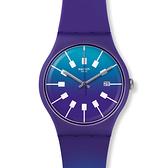 Swatch  暮色蒼穹石英腕錶   SUOV400
