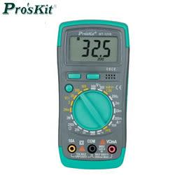 Pro sKit 寶工 MT-1210, 3 1/2經濟款數位電錶