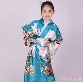 女童和服 cosplay日本式傳統睡袍浴衣表演出影樓主題寫真舞蹈臺服裝 DR22861【Rose中大尺碼】