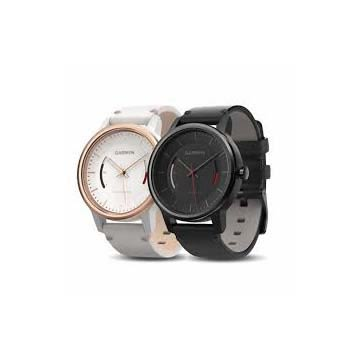 Garmin vivomove 智慧指針式腕錶(CLASSIC典雅文青風) ◆vívomove採用專業日本機芯