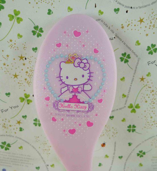 【震撼精品百貨】Hello Kitty 凱蒂貓-KITTY手拿鏡-公主圖案-粉色