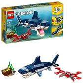 LEGO 樂高 Creator 3in1 Deep Sea Creatures 31088 Building Kit (230 Piece)