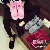 新款秋冬季月子鞋包跟室內外厚底防滑SMY6446【極致男人】