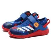 ADIDAS 休閒鞋 MARVEL SPIDER-MAN ACTIVEFLEX AC 紅藍 蜘蛛人 魔鬼氈 小童 (布魯克林) FV4265