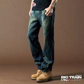 BIG TRAIN 街頭?線垮褲-男-深藍