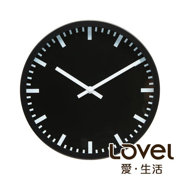 Lovel 25cm摩登膠框靜音時鐘- 共4款