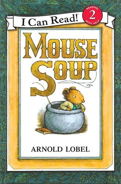 (二手書)An I Can Read Book Level 2: Mouse Soup with CD